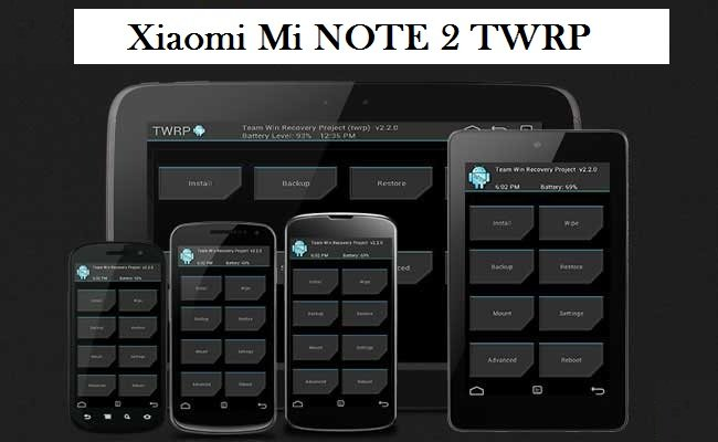 Xiaomi Mi NOTE 2 ROOT and TWRP recovery