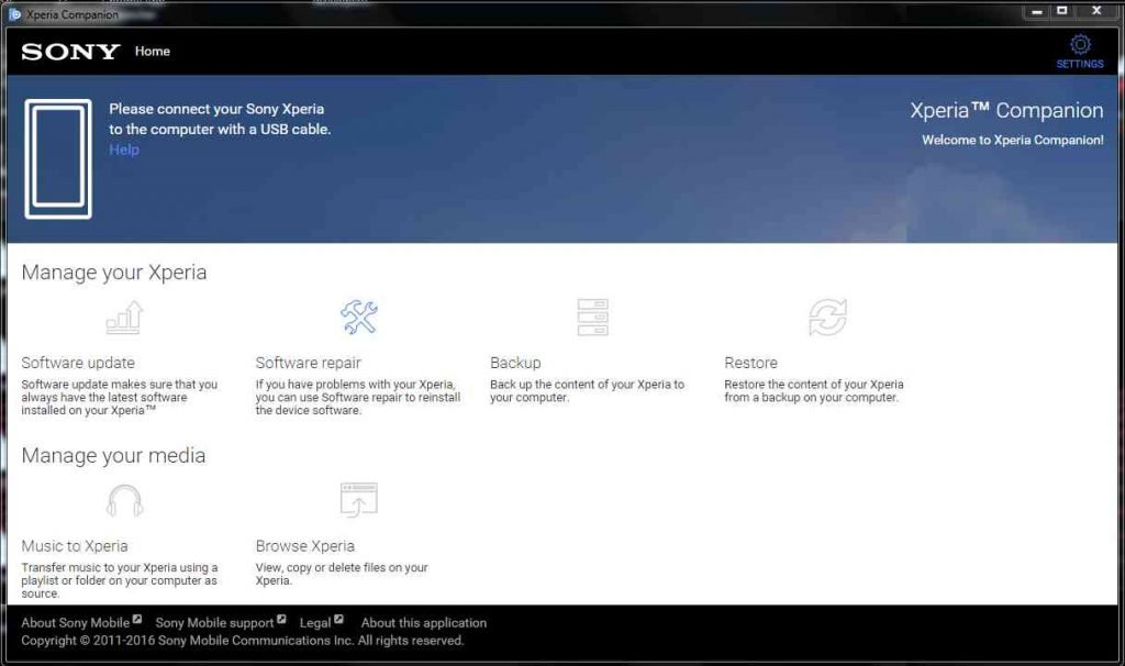 How to Download and Install Xperia Companion