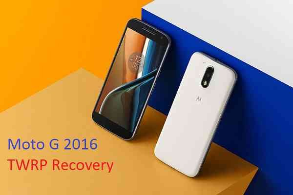 MOTO G 2016 (4th Generation) TWRP RECOVERY INSTALLATION GUIDE