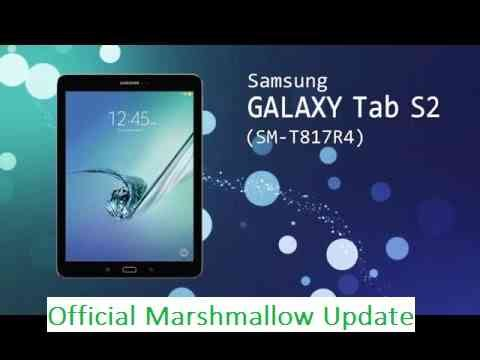 GALAXY TAB S2 SM-T817R4 US Cellular Android 6.0.1 MARSHMALLOW
