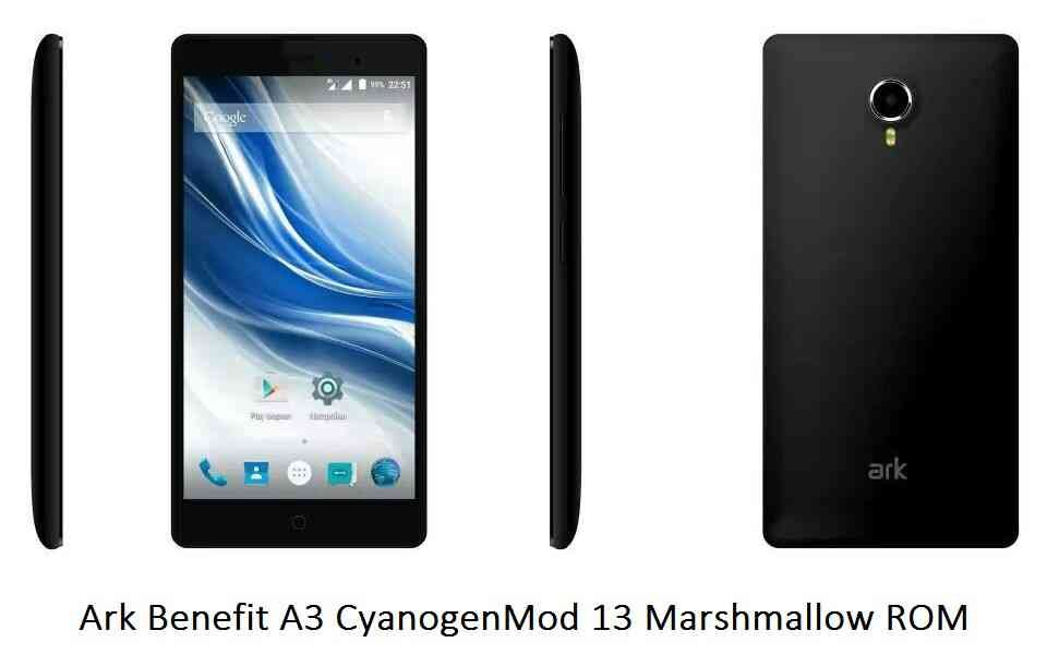 CYANOGENMOD 13 FOR ARK BENEFIT A3 CM13 (CYANOGENMOD 13) (Codename: peach) MARSHMALLOW CUSTOM ROM