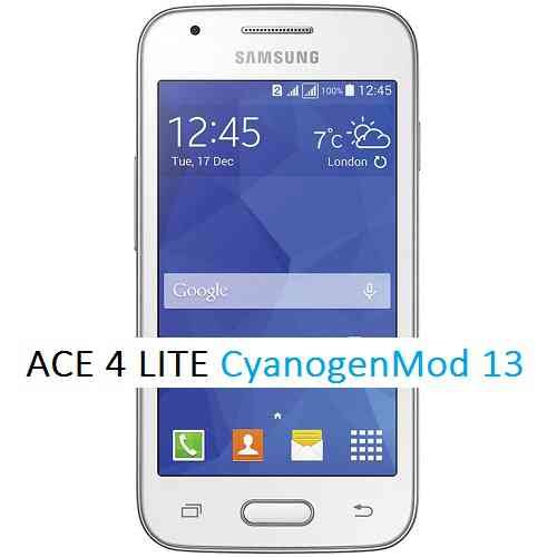 CyanogenMod 13 on (G313ML) Galaxy ACE 4 LITE CM13 Marshmallow ROM