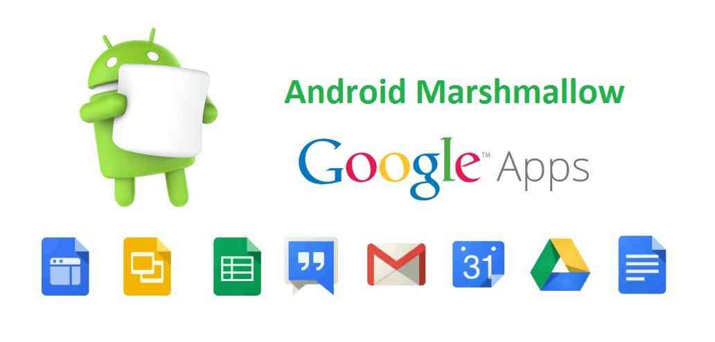 ANDROID MARSHMALLOW GAPPS (GOOGLE APPS) FOR CM13/CYANOGENMOD 13/AOSP