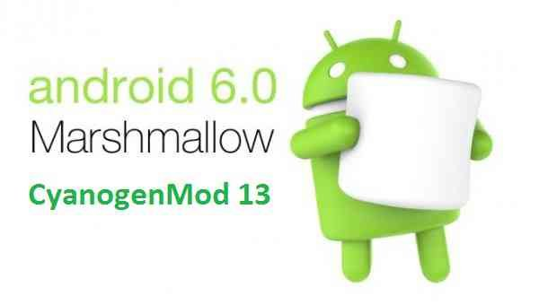 CyanogenMod 13 (CM13) Android Marshmallow 6.0.x ROMs list