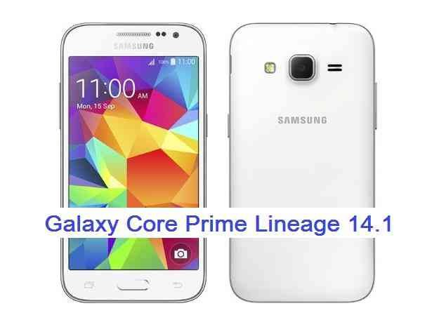 Galaxy Core Prime 3G LineageOS 14.1 Nougat 7.1 Custom ROM