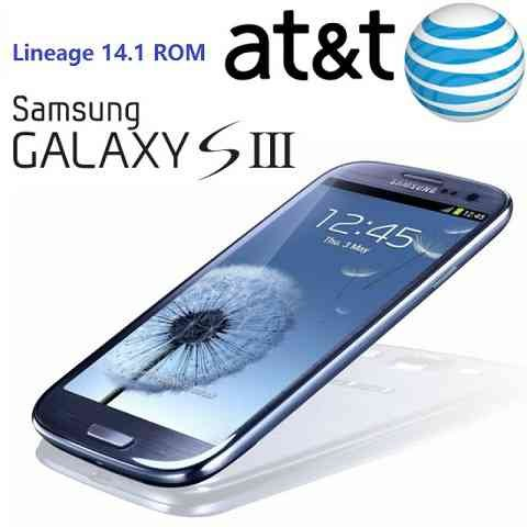 Galaxy S3 AT&T Lineage 14.1 Nougat 7.1 Custom ROM