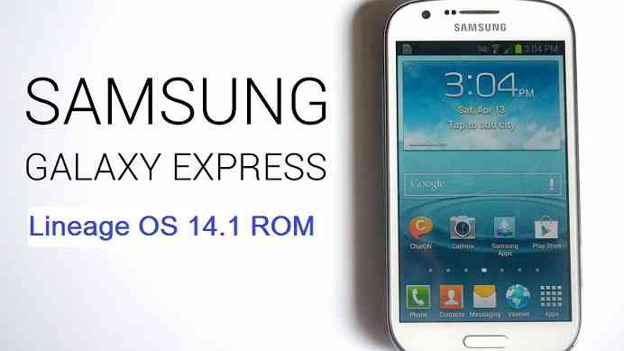 LineageOS 14.1 for Galaxy Express (expressltexx, GT-i8730)