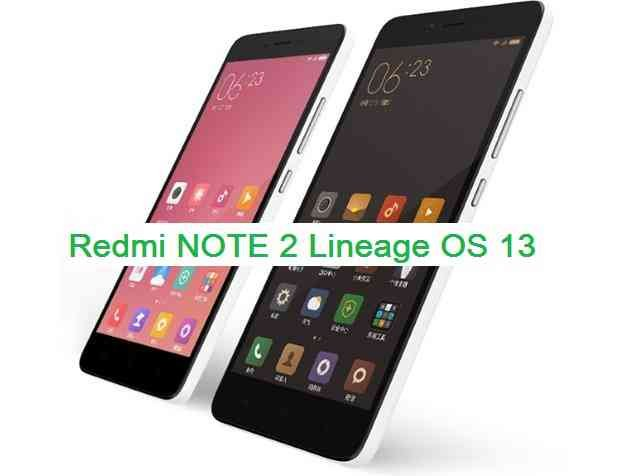 LineageOS 13 for Redmi NOTE 2 (hermes)