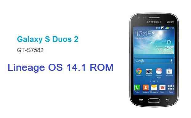 LineageOS 14.1 for Galaxy S DUOS 2