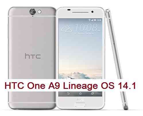 LineageOS 14.1 for HTC One A9 Nougat 7.1 ROM