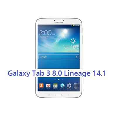 LineageOS 14.1 for Galaxy TAB 3 8.0 WiFi