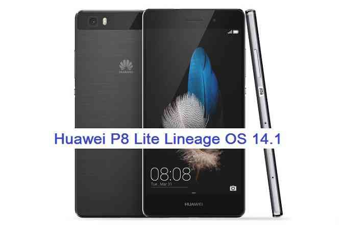 LineageOS 14.1 for Huawei P8 Lite (alice)