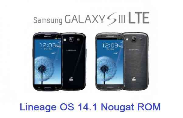LineageOS 14.1 for Galaxy S3 LTE (i9305)