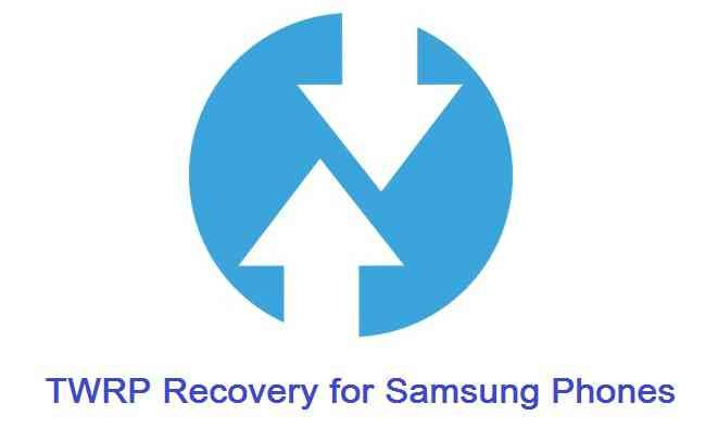 Download list of TWRP recovery for Samsung phones