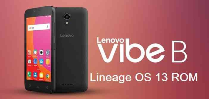 Lineage OS 13 for Vibe B (al732row)