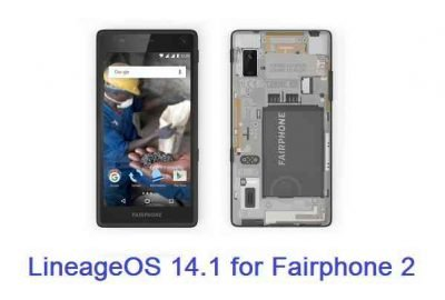 Fairphone 2 Lineage OS 14.1 (fp2)