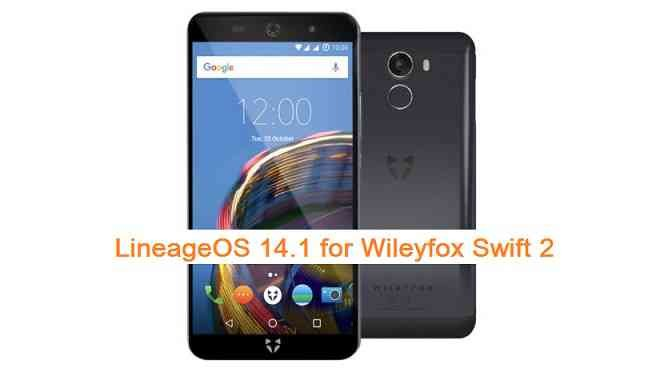 LineageOS 14.1 for Wileyfox Swift 2 (marmite)