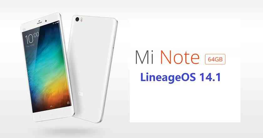 LineageOS 14.1 for Xiaomi Mi NOTE (virgo)