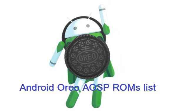 Android Oreo AOSP ROM