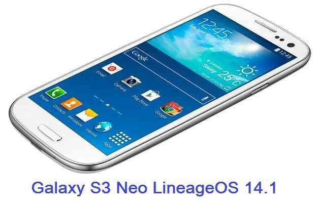 LineageOS 14.1 for Galaxy S3 Neo
