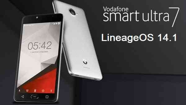 LineageOS 14.1 for Vodafone Smart Ultra 7