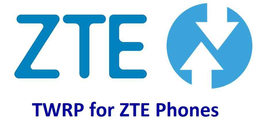 Download TWRP recovery for ZTE Phone