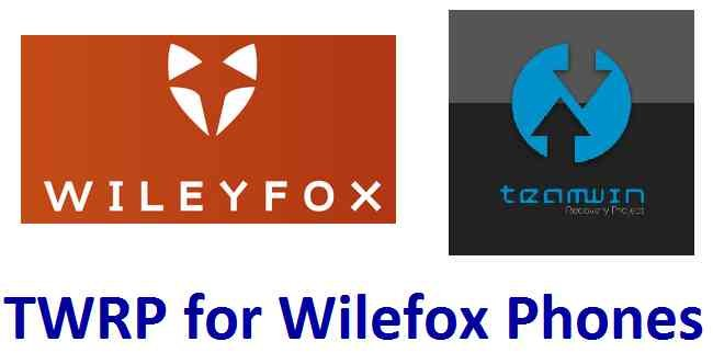Download TWRP recovery for Wilefox Phones