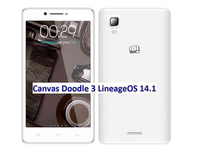 Lineage OS 14.1  for Canvas Doodle 3 Nougat ROM