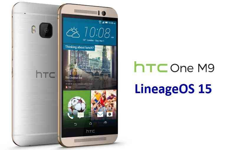 LineageOS 15.1 for HTC One M9 Oreo 8 ROM