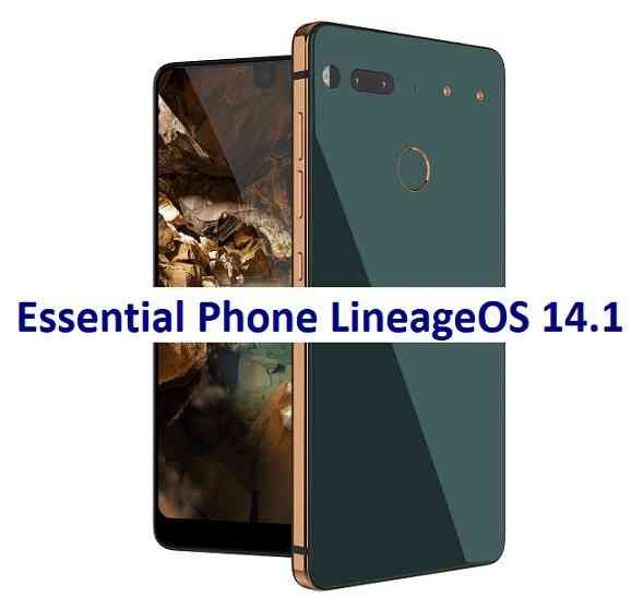 LineageOS 14.1 for Essential Phone PH-1 Nougat ROM