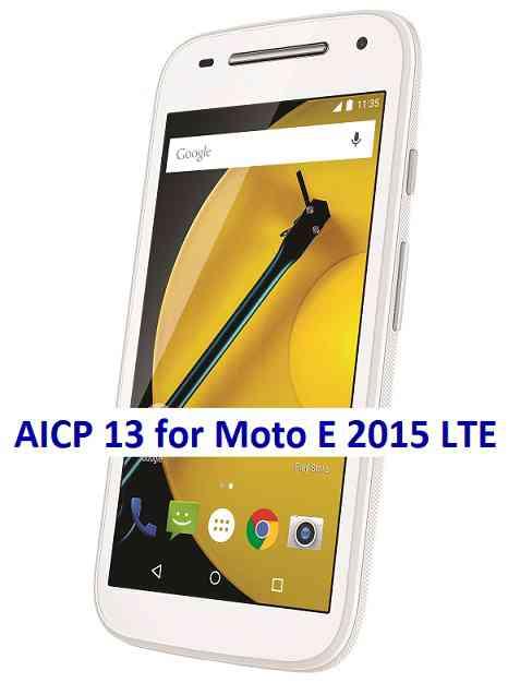 Moto E 2015 LTE AICP 13 OREO ROM