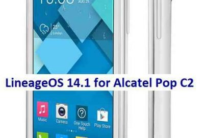 LineageOS 14.1 for Alcatel Pop C2 Nougat 7.1 ROM