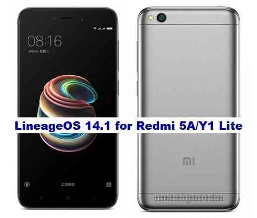 Lineage OS 14.1 for Redmi Y1 Lite Android Nougat 7.1 ROM Download