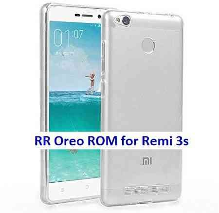 Resurrection Remix Oreo for Redmi 3s/Prime