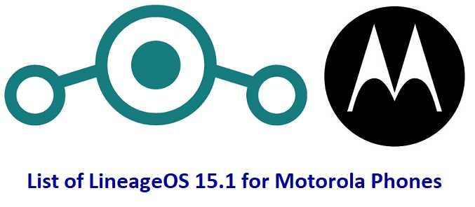 LineageOS 15.1 for Moto Phones