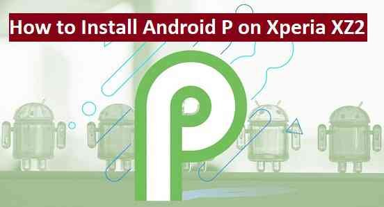 How to Install Android P on Xperia XZ2