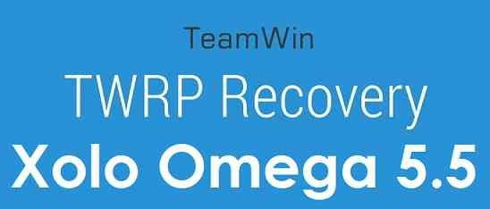 TWRP for Xolo Omega 5.5 and ROOT guide