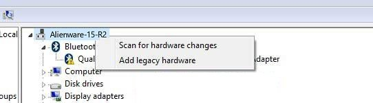 select add legacy hardware