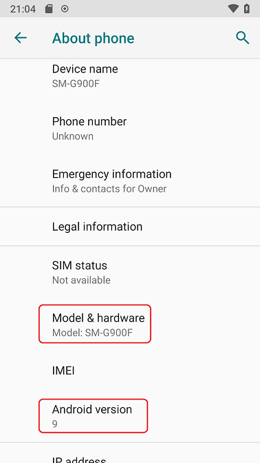 Lineage OS 16 on Galaxy S5