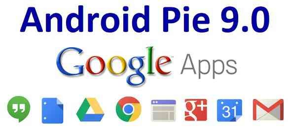 Android 9 Pie GApps Download