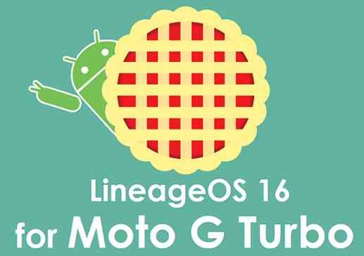 LineageOS 16 for Moto G3 Turbo