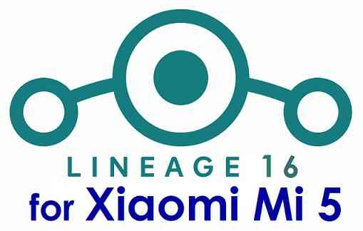 Download Lineage OS 16 for Xiaomi Mi 5