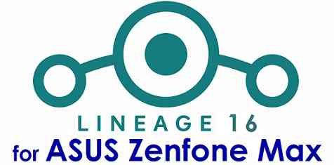 Lineage OS 16 for Asus Zenfone Max