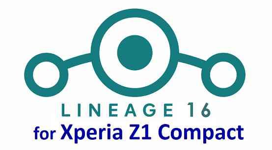 Download Lineage OS 16 for Xperia Z1 Compact - Android Pie 9.0