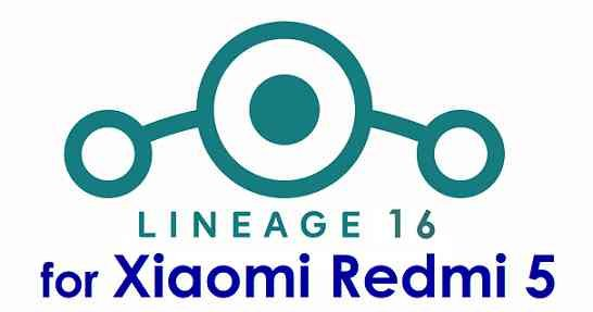 Lineage OS 16 for Redmi 5 - Android Pie 9.0