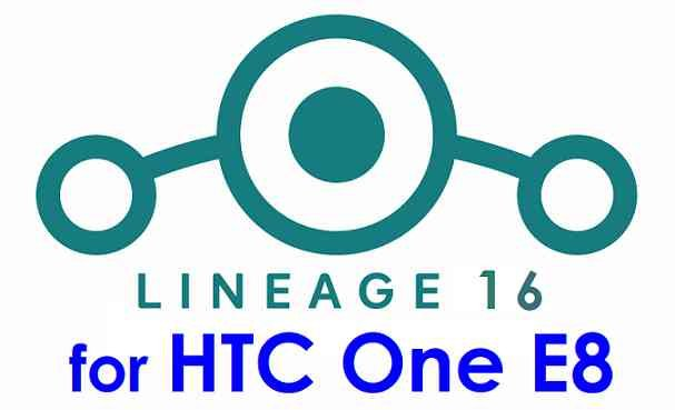 Download LineageOS 16 for HTC One E8