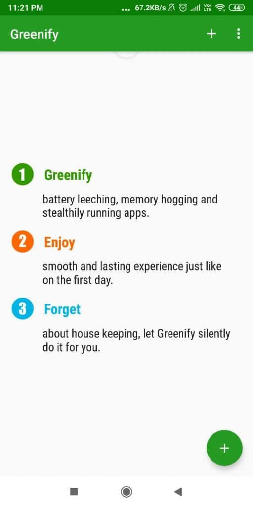 Download Greenify Pro APK Latest Version for Free 2019