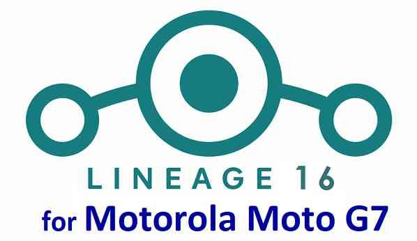 Download LineageOS 16 for Moto G7