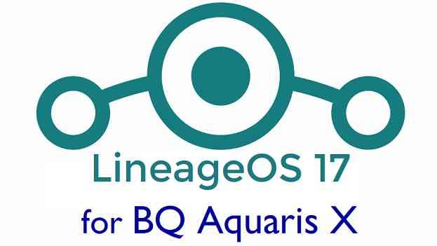 Download LineageOS 17 for Aquaris X