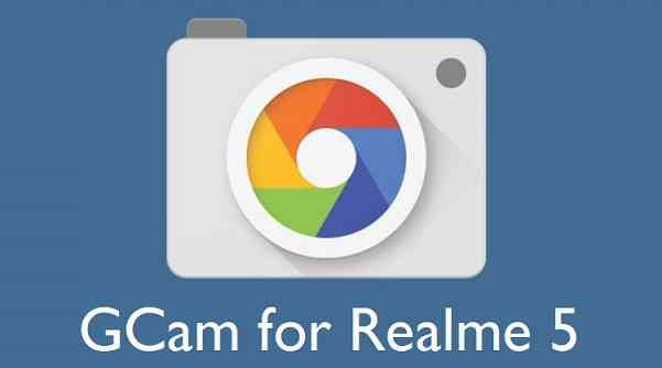Download Google Camera / GCam APK for Realme 5